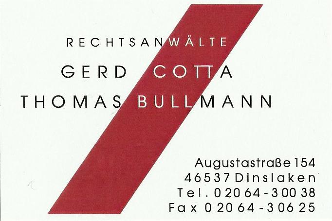 Kontakt Cotta Bullmann